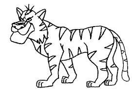 Jungle Animals Coloring Pages Coloringpagesabc 532703 For Free 2015