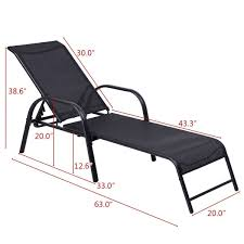 Outdoor Patio Chaise Lounge Chair Sling Lounge Recliner ... Fascating Chaise Lounge Replacement Wheels For Home Styles Us 10999 Giantex Folding Recliner Adjustable Chair Padded Armchair Patio Deck W Ottoman Fniture Hw59353 On Aliexpress For With Details About Mainstays Brinson Bay Cushions Set Of 2 Durable New Lloyd Flanders Reflections Wicker Sun Lounger Outdoor Amazoncom Curved Rattan Yardeen Pack Poolside Homall Portable And Pe 1 Veranda Cover Beige China Plastic White With Footrest Havenside Kivalina Oak 2pack