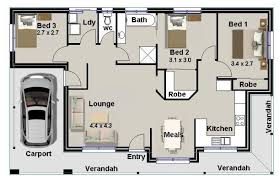 Houses NEW FLOOR PLANS 3 Bed Homestead Plan