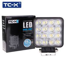 Led Work Lights For Trucks | Best Price TC-X LED Work Light 16 X 3W ... 4x 4inch Led Lights Pods Reverse Driving Work Lamp Flood Truck Jeep Lighting Eaging 12 Volt Ebay Dicn 1 Pair 5in 45w Led Floodlights For Offroad China Side Spot Light 5000 Lumen 4d Pod Combo Lights Fog Atv Offroad 3 X 4 Race Beam Kc Hilites 2 Cseries C2 Backup System 519 20 468w Bar Quad Row Offroad Utv Free Shipping 10w Cree Work Light Floodlight 200w Spotlight Outdoor Landscape Sucool 2pcs One Pack Inch Square 48w Led Work Light Off Road Amazoncom Ledkingdomus 4x 27w Pod