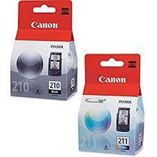 Canon PG 210 Black CL 211 Color Ink Cartridge Set For PIXMA MP240