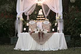 Sweetheart And Cake Table