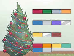 Gold Christmas Tree Tinsel Icicles by How To Decorate A Christmas Tree Elegantly 12 Steps