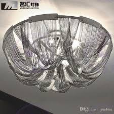 großhandel terzani atlantis deckenleuchte italien kette quasten licht moderne silber aluminium le esszimmer lichter wohnzimmer hotel beleuchtung