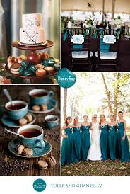 Unique Ocean Blue Wedding Color Scheme For Beach And Country Weddings 2015