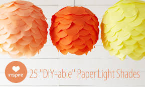25 paper l shade inspirations what else michelle