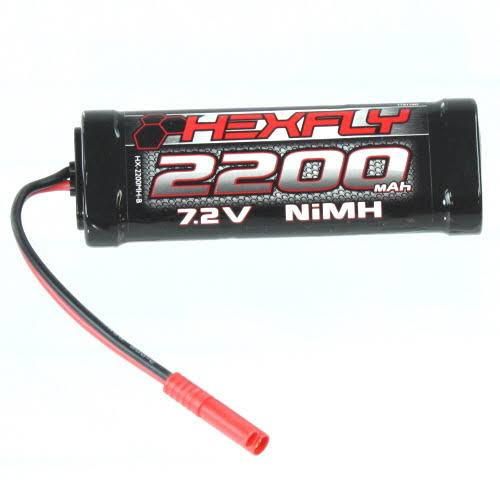 Redcat Racing Hexfly Battery - 7.2v, 2200mah, Banana 4.0