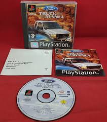 100 Truck Mania 1 Ford Sony Playstation PS Game Retro Gamer Heaven