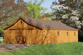Two Story & Modular Horse Barns | Hillside Structures Lshaped Barns Horse Horizon Structures Shedrow From Lancaster Amish Builders Gable Shed Gambrel Barn Loafing Post Beam Runin Row Rancher With Overhang Amishuilt_horse_barns 10x20 Rustic Unpainted Animal Shelters 48 Classic Floor Plans Dc Jn All American Whosalers 36 X Modular Casper Wy 60 Ft Building Httpwww
