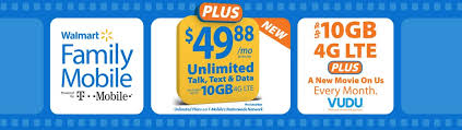 Walmart Family Mobile Changes Its Plan Options