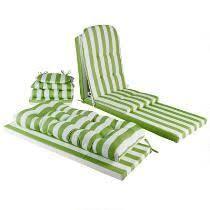 Green Cabana Indoor Outdoor Single U Chair Cushion