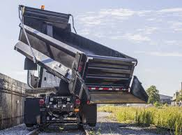 Hi-Rail Rotary Dump Truck - Canadian Hi-Rail Services
