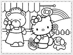 Image Of Hello Kitty Coloring Pages Free To Print