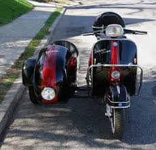The Best Looking Custom Vintage Vespa Sidecar Vehicles For A Ride Along In Style Sidecars