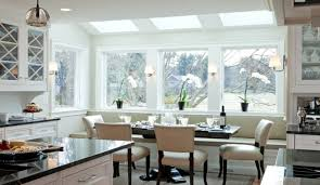 Kitchen Booth Seating Ideas by Table For Bay Window In Kitchen Kitchen Table Gallery 2017