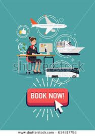 Cool Detailed Vector Concept Illustration On Travel Agency Web Banner Or Printable Template Summer