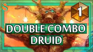 Hearthstone Decks Druid Combo by Hearthstone Double Combo Druid 1 Youtube