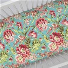 Coral And Mint Baby Bedding by Solid Mint Crib Sheet Carousel Designs