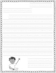 Classroom Freebies Primary Letter Writing Paper