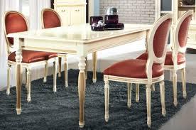casa padrino luxus barock esszimmer set creme gold orange ausziehbarer küchentisch mit 4 esszimmerstühlen esszimmermöbel im barockstil