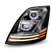 Volvo VN\VNL Chrome LED Projector Headlight Assembly (Driver Side) Stedi 7 Inch Carbon Led Headlight Motorbike Truck Jeep Wrangler Crystal Clear 5x7 7x6 H1426054 Highlow Beam 19992018 F150 Diode Dynamics Fog Lights Fgled34h10 Led Around Headlights For Trucks Lllspg9006 9006 Headlight Bulbs With Blue Glow Light Lifetime Alburque Accsories Unlimited Inch Led Truck 6x7 Oracle 1416 Chevrolet Silverado Wpro Halo Rings Bulbs Boise Car Audio Stereo Installation Diesel And Gas Performance Automotive Bars Strips Halos Custom Light Kits
