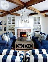 coastal style living room furniture beach interior decorating