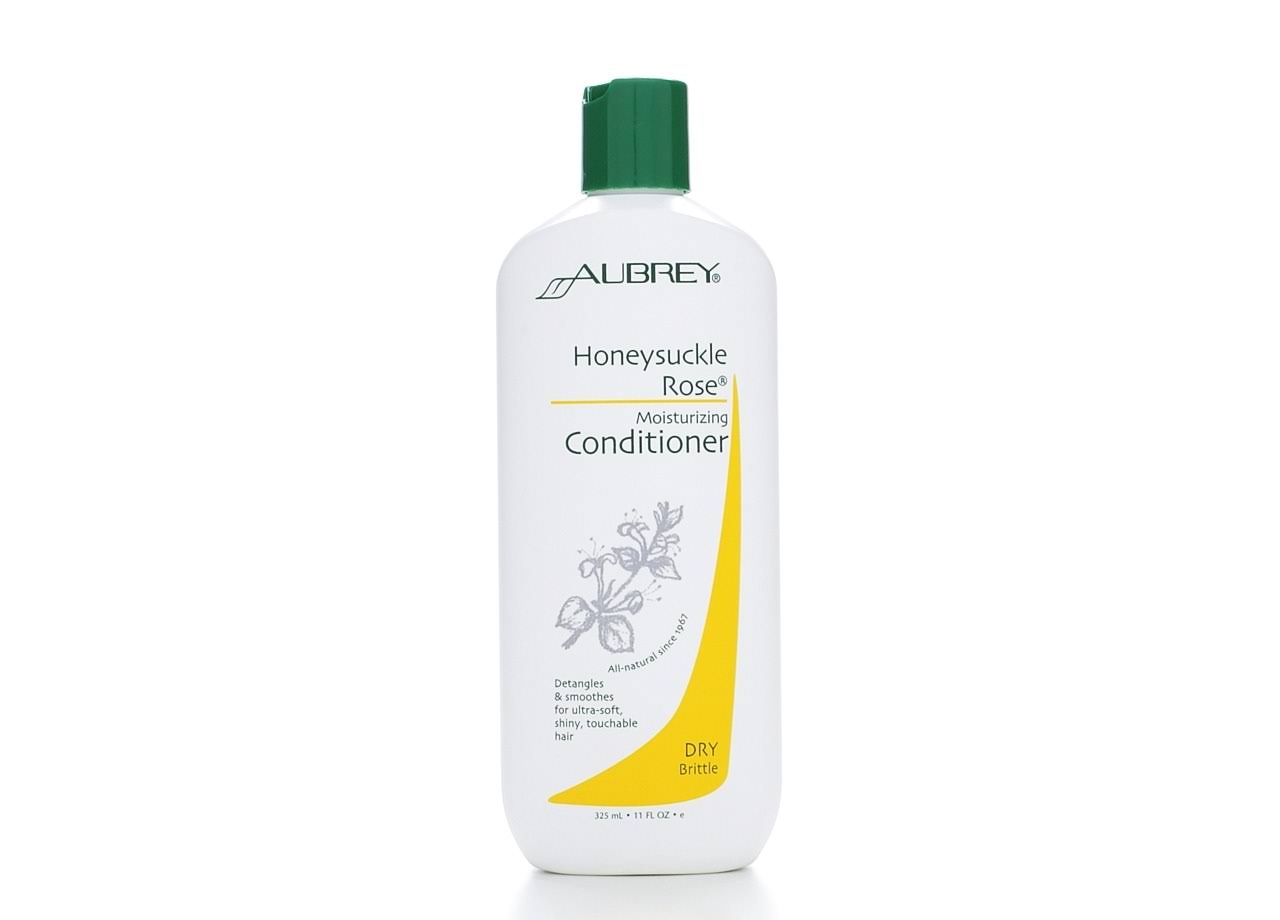 Aubrey Organics Honeysuckle Rose Conditioner - Rose Hip Seeds & Argan Oil, 325ml