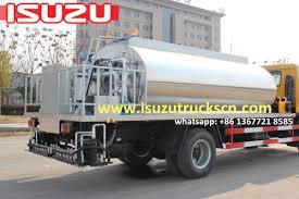 100 Japanese Truck Hot Selling 10000L Myanmar ISUZU FTR Automatic Bitumen