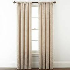 Jcpenney Traverse Curtain Rod by Jcp Jcpenney Home Addison Blackout Grommet Top Curtain Panel