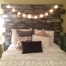 Wonderful Bedroom Pictures Whitewashed Rustic Headboard Made Diy Ideas