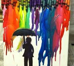 How To Melt Crayons On A Canvas