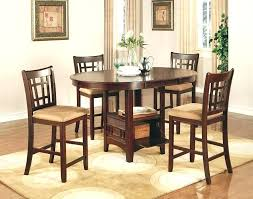 Rustic Dining Set Counter Height Table Room Sets Pub