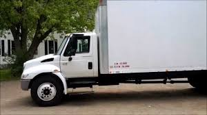 2005 International IH 4200 24 Foot Box Truck VT365 Power Stroke ...