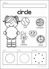 351 Best Shapes Preschool Theme Images On Pinterest