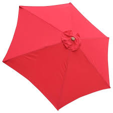 Patio Umbrella Replacement Canopy 8 Ribs by 6 Rib Umbrella Replacement Canopy Cover Contemporary Outdoor