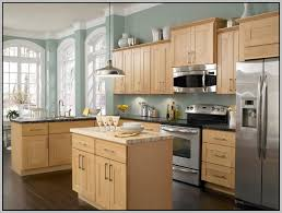kitchen wall colors with honey maple cabinets painting from honey