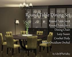 LilyOfTheValleys Round Table Dining Set