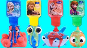Crayola Bathtub Fingerpaint Soap Set by Finding Dory Disney Frozen Bath Paint Pool Party Toy Surprises
