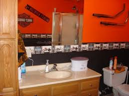 Extraordinary Harley Davidson Bathroom Decor Unique Theme For Fans In