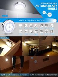 amir motion sensor light cordless battery powered led light
