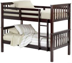 bernards youth bedroom lomond bunk bed twin over twin 228358