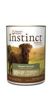 Canned Pumpkin For Dog Constipation by Instinct Grain Free Canned Dog Food Venison Instinct Pet Food