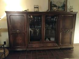 wohnzimmer schrank vitrine antik shabby chic