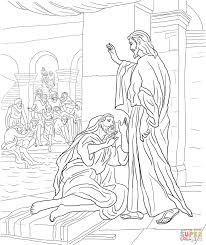 Click The Jesus Heals Man At Pool Of Bethesda Coloring Pages