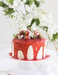 fruchtige erdbeer frischkäse torte zu muttertag