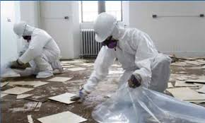 Removing Asbestos Floor Tiles In California by Scs Environmental Services Inc Massachusetts Asbestos Removal