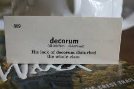 define decorous are you a mensch stop your out free kindle