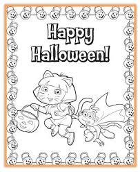FREE Nick Jr Halloween Printables