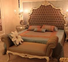 casa padrino luxus barock doppelbett braun silber gold 230 x 200 x h 220 cm edles massivholz bett mit kopfteil prunkvolle schlafzimmer möbel