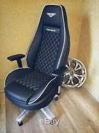 Recaro Desk Chair Uk by 09 Bentley Continental Gt Office Chair Oem Seat Racechair